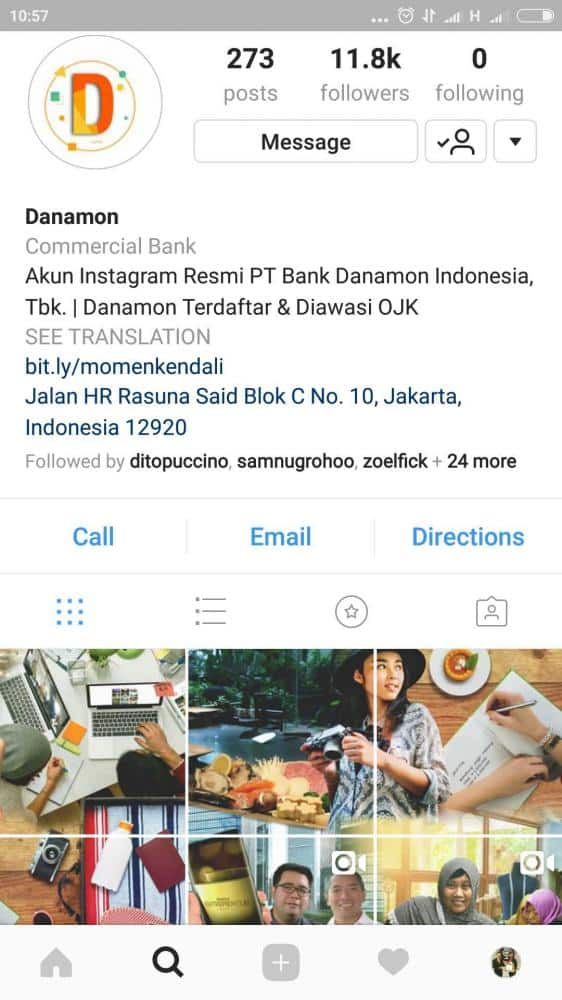 Instagram-Bank-Danamon